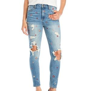 MWT Lucky Brand Bridgette Skinny High Rise Jeans